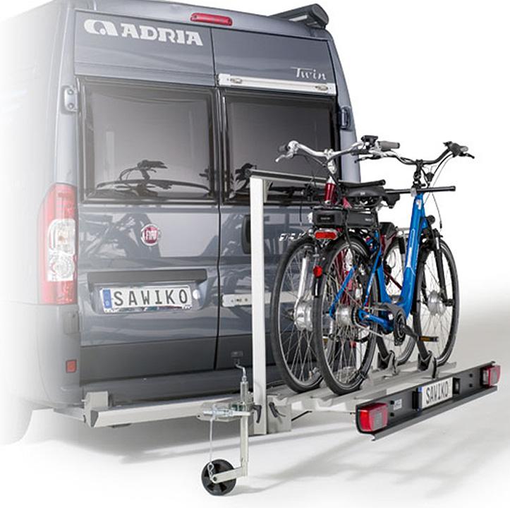 heck fahrradtr ger anh ngerkupplung fraron wohnmobil. Black Bedroom Furniture Sets. Home Design Ideas