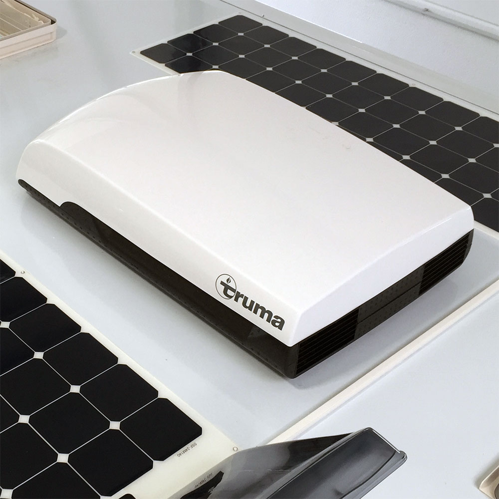 klimaanlagen f r dach stauraum fraron wohnmobil elektronik. Black Bedroom Furniture Sets. Home Design Ideas