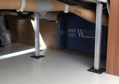 Wechselrichter-Zwischenboden